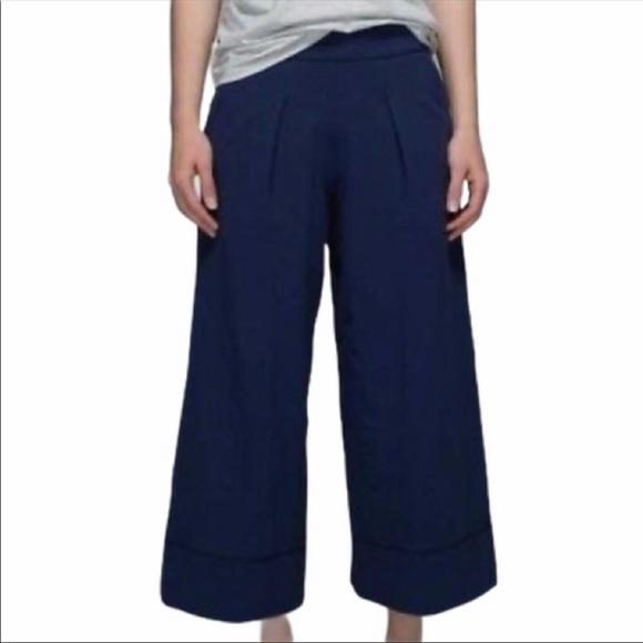 2 pairs of Lululemon Yin pants- Black + Navy
